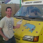 That's one chilled out ice-cream man ha ha